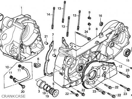 Honda Cn250 Helix 1990 England / Mph parts list