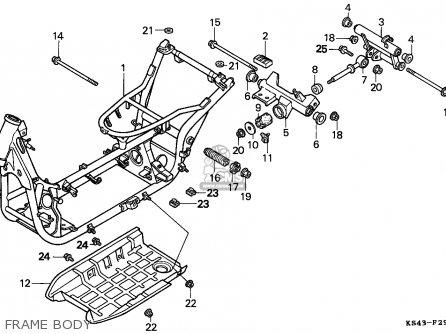 Honda CN250 HELIX 1990 (L) ENGLAND MPH parts lists and
