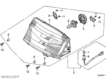 Honda Rebel Carb Diagram Honda Recon Carb Diagram Wiring