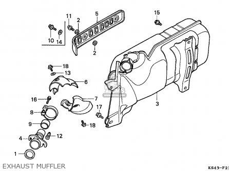 Honda Cn250 Helix 1994 (r) England Mph parts list