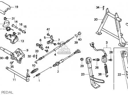 Honda CN250 HELIX 1995 (S) USA parts lists and schematics