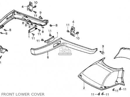 Honda Cn250 Helix 1996 (t) Usa parts list partsmanual