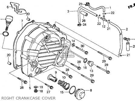 Honda Cn250 Helix 1997 (v) Usa parts list partsmanual