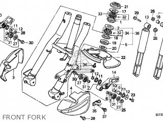 Honda CN250 HELIX 1998 (W) USA parts lists and schematics