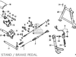 Honda Cn250 Helix 1998 (w) Usa parts list partsmanual