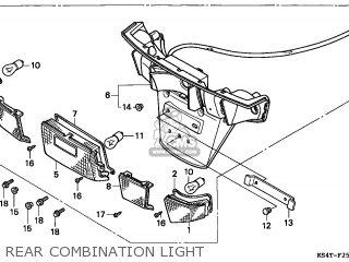 Honda Cn250 Helix 1999 (x) Italy parts list partsmanual
