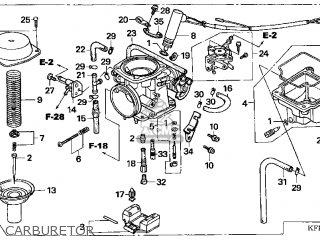 Honda Cn250 Helix 1999 (x) Usa parts list partsmanual