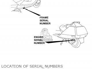 Honda CN250 HELIX 1999 (X) USA parts lists and schematics