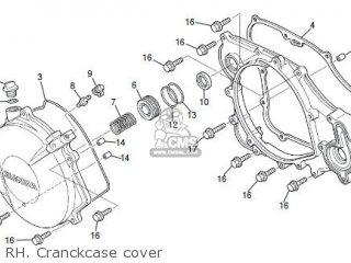Honda COTA 4RT 2016 parts lists and schematics