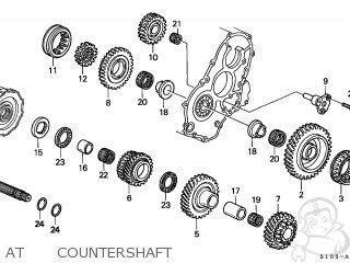 Honda CR-V 1997 (V) 5DR LX ABS 4WD ABS (KA,KL) parts lists