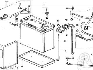 Honda CR-V 1999 (X) 5DR EX (KA,KL) parts lists and schematics