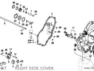 Honda CR-V 1999 (X) 5DR LX 2WD (KA,KL) parts lists and
