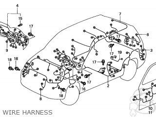 Honda CR-V 2002 (2) 5DR EX 4WD (KA) parts lists and schematics