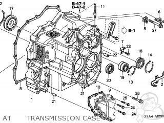Honda CR-V 2002 (2) 5DR LX 2WD (KA) parts lists and schematics