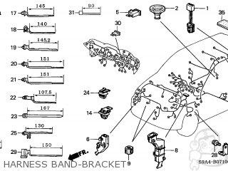 Honda CR-V 2002 (2) 5DR LX 4WD (KA) parts lists and schematics