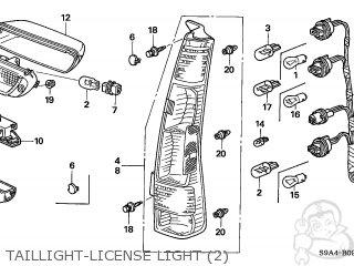 Honda CR-V 2005 (5) 5DR LX 4WD (KA) parts lists and schematics