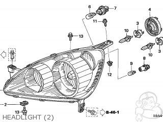 Honda CR-V 2005 (5) 5DR SE (KA) parts lists and schematics