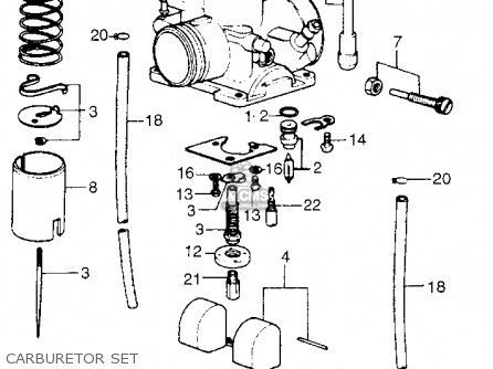 Honda Cr125m Elsinore M1 1975 Usa parts list partsmanual