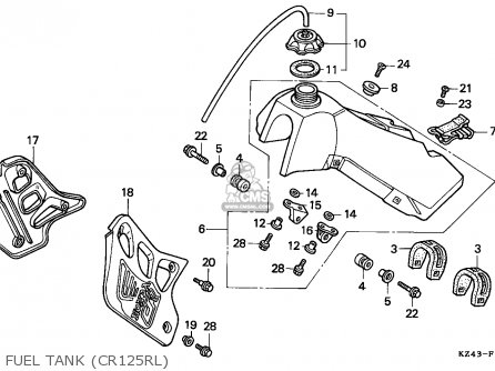 450 Yamaha Atv Wiring Diagram Yamaha TT500 Carburettor