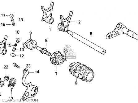 Honda Cr125 Engine Honda CB650 Engine Wiring Diagram ~ Odicis