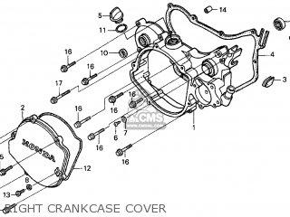 Honda CR125R 1998 (W) USA CALIFORNIA parts lists and