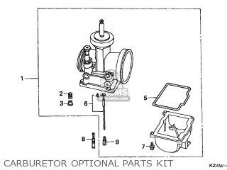 Honda Cr125r 1999 Canada / Cmf parts list partsmanual
