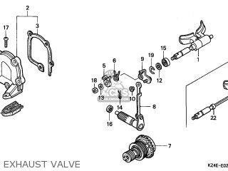 Honda CR125R 2000 (Y) AUSTRALIA parts lists and schematics