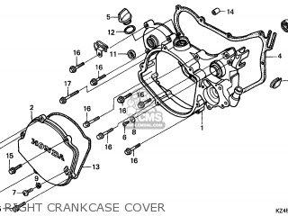 Honda CR125R 2000 (Y) EUROPEAN DIRECT SALES / CMF parts
