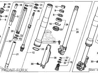 Honda CR125R 2001 (1) USA parts lists and schematics
