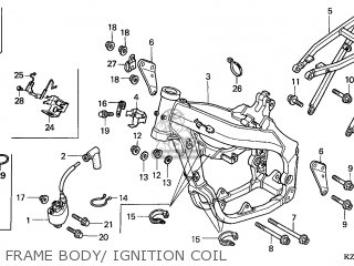 Honda CR125R 2003 (3) EUROPEAN DIRECT SALES parts lists