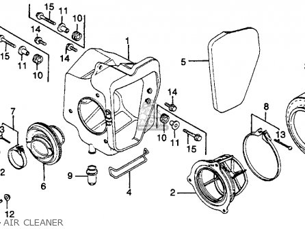Honda CR125R ELSINORE 1979 (Z) USA parts lists and schematics