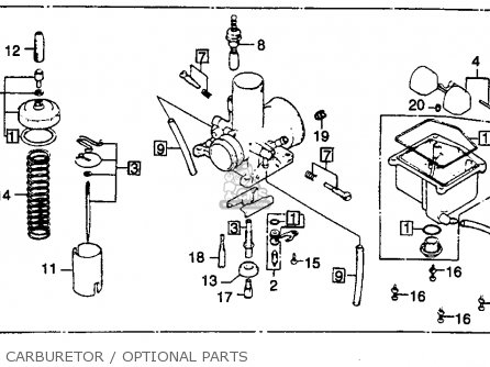 Honda CR125R ELSINORE 1979 (Z) USA parts lists and schematics