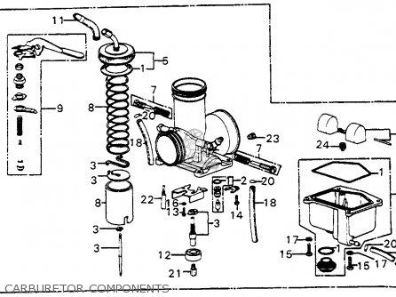 Honda Ct70 Carburetor Diagram, Honda, Free Engine Image