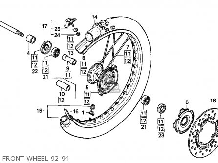 Honda Cr250 Engine Diagram 4 Stroke Engine Wiring Diagram