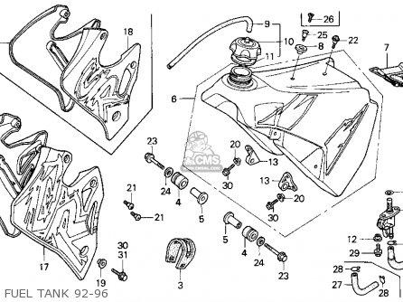 1990 Honda Cr250r Clutch Diagram, 1990, Free Engine Image