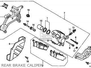 Honda Cr250r 1997 (v) Canada Cmf parts list partsmanual