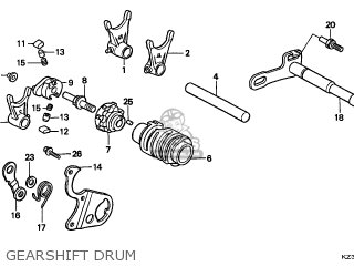 Honda CR250R 1999 (X) EUROPEAN DIRECT SALES CMF parts
