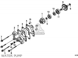 Honda CR250R 2001 (1) AUSTRALIA parts lists and schematics