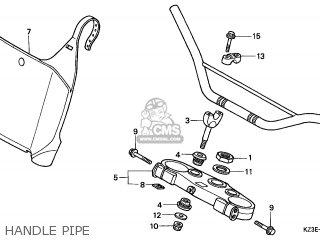 Honda CR250R 2001 (1) EUROPEAN DIRECT SALES / CMF parts