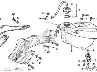 Honda CR250R 2001 (1) USA parts lists and schematics