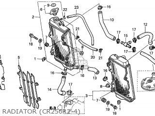 Honda CR250R 2002 (2) CANADA parts lists and schematics