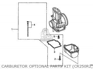 Honda CR250R 2002 (2) EUROPEAN DIRECT SALES parts lists