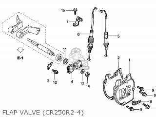 Honda CR250R 2003 (3) CANADA parts lists and schematics