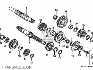 Honda CR250R 2003 (3) EUROPEAN DIRECT SALES parts lists