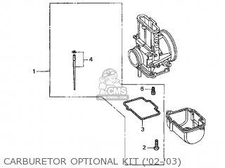 Honda CR250R 2003 (3) USA parts lists and schematics