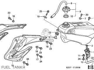 Honda CR250R 2005 (5) AUSTRALIA parts lists and schematics
