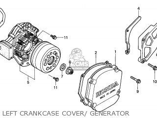 Honda CR250R 2005 (5) EUROPEAN DIRECT SALES parts lists