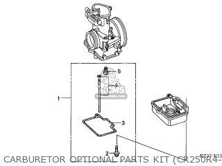 Honda CR250R 2006 (6) AUSTRALIA parts lists and schematics