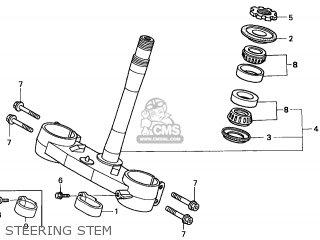 Honda CR250R 2006 (6) EUROPEAN DIRECT SALES / CMF parts