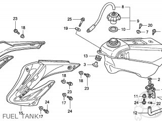 Honda CR250R 2007 (7) EUROPEAN DIRECT SALES parts lists